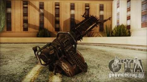 Fallout 4 Shredding Minigun для GTA San Andreas второй скриншот