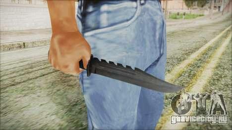 GTA 5 Knife v2 - Misterix 4 Weapons для GTA San Andreas