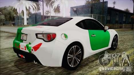Toyota GT86 (ZN6) 2012 HD Algeria PJ для GTA San Andreas салон