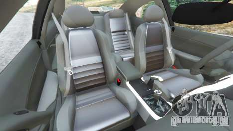 Holden Monaro CV8-R 2005 для GTA 5 вид справа