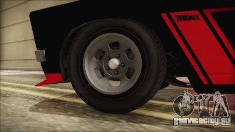 GTA 5 Declasse Tampa IVF для GTA San Andreas вид сзади слева