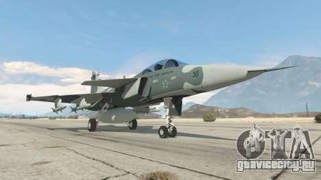 Saab JAS 39 Gripen NG FAB [Beta] для GTA 5 шестой скриншот