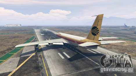 Boeing 707-300 для GTA 5 третий скриншот
