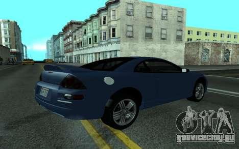 Mitsubishi Eclipse GTS Tunable для GTA San Andreas вид слева