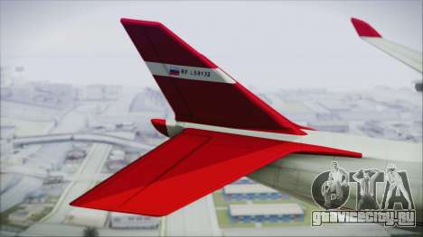GTA 5 Cargo Plane для GTA San Andreas вид сзади слева