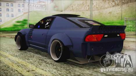 Nissan 180SX Rocket Bunny Edition для GTA San Andreas вид слева