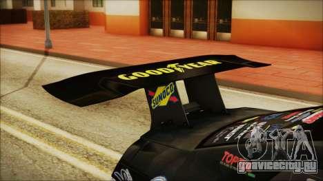 Nissan GT-R R35 Naoto для GTA San Andreas вид сзади