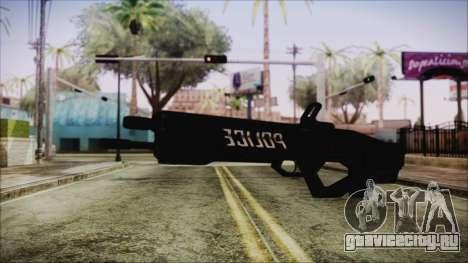 Cyberpunk 2077 Rifle Police для GTA San Andreas