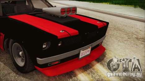 GTA 5 Declasse Tampa IVF для GTA San Andreas вид изнутри