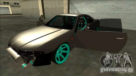 Nissan Skyline R33 Drift для GTA San Andreas вид сбоку