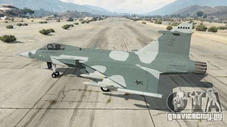 Saab JAS 39 Gripen NG FAB [Beta] для GTA 5 второй скриншот