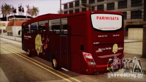 JetBus Marissa Holiday для GTA San Andreas вид слева