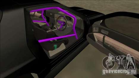 Mazda RX-7 FC Drift для GTA San Andreas вид сбоку