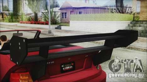 Benefactor Feltzer Super Sport для GTA San Andreas вид справа