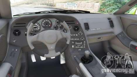 Toyota Supra JZA80 для GTA 5 вид сзади справа