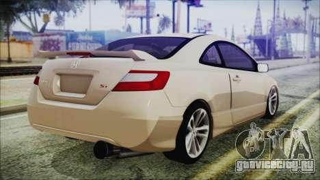 Honda Civic для GTA San Andreas вид слева