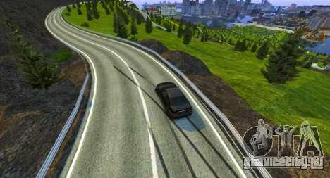 Стельвио Пасс Трек для GTA 4