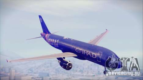 Airbus A320-200 Etihad Airways Abu Dhabi Grand для GTA San Andreas