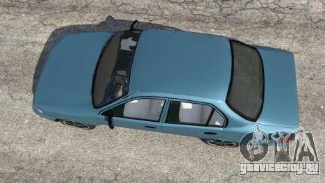 Toyota Corolla 1.6 XEI v1.02 для GTA 5 вид сзади