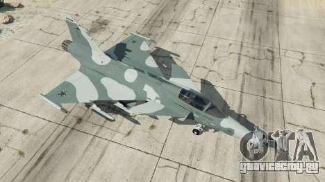 Saab JAS 39 Gripen NG FAB [Beta] для GTA 5 четвертый скриншот
