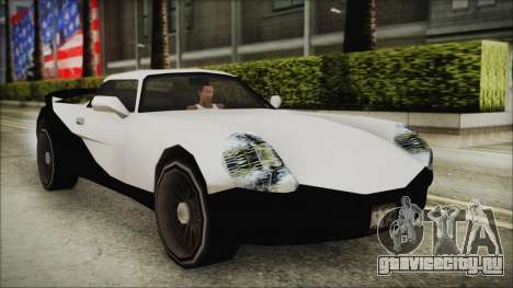 BETA Yakuza Shark для GTA San Andreas