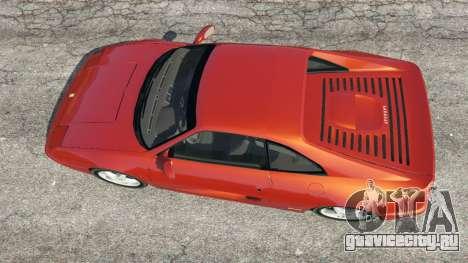 Ferrari F355 для GTA 5 вид сзади