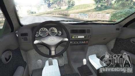 Toyota Corolla 1.6 XEI [black edition] v1.02 для GTA 5 вид сзади справа
