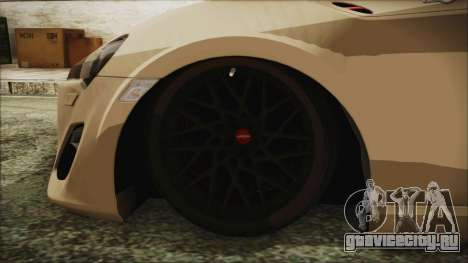 Toyota GT86 для GTA San Andreas вид сзади слева