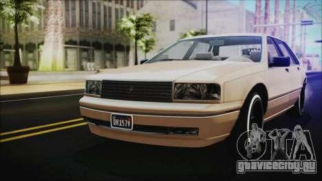 GTA 5 Albany Primo Custom IVF для GTA San Andreas