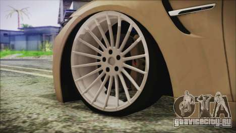 BMW M4 Coupe для GTA San Andreas вид сзади слева