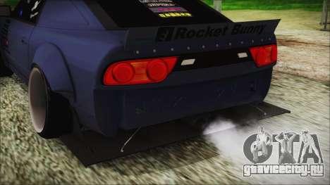 Nissan 180SX Rocket Bunny Edition для GTA San Andreas вид сзади