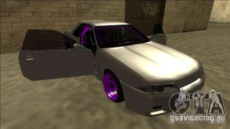 Nissan Skyline R32 Drift для GTA San Andreas двигатель