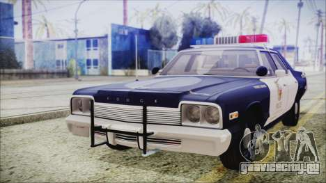 Dodge Monaco 1974 LSPD Highway Patrol Version для GTA San Andreas