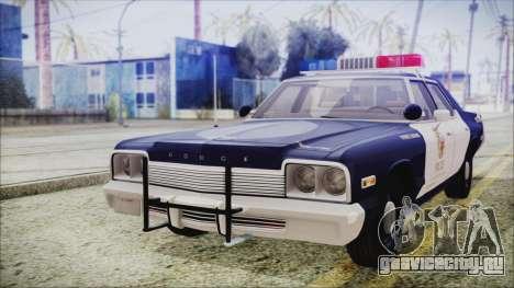 Dodge Monaco 1974 LSPD Highway Patrol Version для GTA San Andreas
