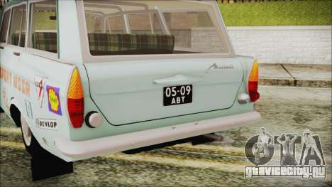 Москвич 427 Ралли v0.5 для GTA San Andreas вид сзади