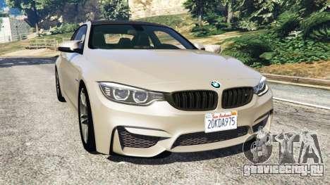 BMW M4 2015 v1.1 для GTA 5