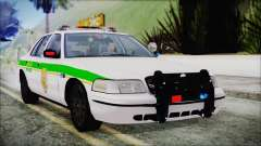 Ford Crown Victoria Miami Dade v2.0 для GTA San Andreas