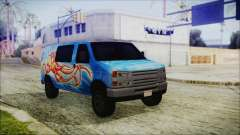 GTA 5 Bravado Paradise Octopus Artwork для GTA San Andreas