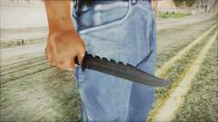 GTA 5 Knife v2 - Misterix 4 Weapons для GTA San Andreas