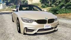 BMW M4 2015 v1.1