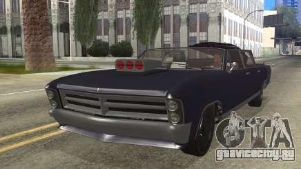GTA 5 Albany Lurcher Cabrio Style для GTA San Andreas
