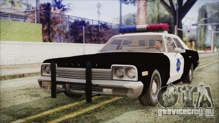Dodge Monaco 1974 SFPD IVF для GTA San Andreas