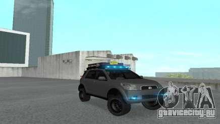 Toyota Terios 2009 OFF-ROAD MUD-TERRAIN для GTA San Andreas