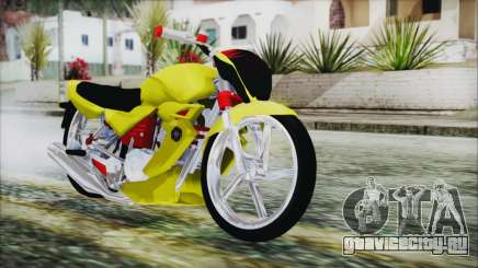 Yamaha Tuning Full Cromo для GTA San Andreas