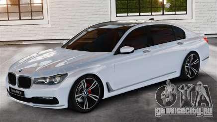 BMW 7-er 2016 v2.0 для GTA 4