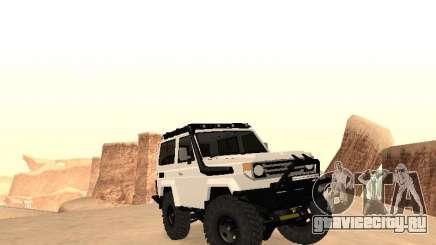 Toyota Machito Off-Road (IVF) 2009 для GTA San Andreas