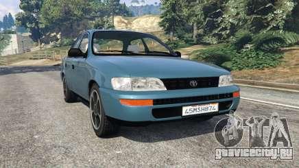 Toyota Corolla 1.6 XEI v1.02 для GTA 5