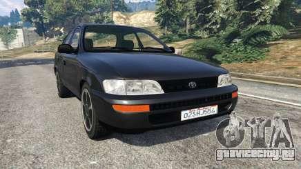 Toyota Corolla 1.6 XEI [black edition] v1.02 для GTA 5