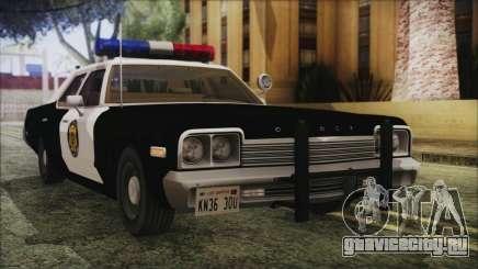 Dodge Monaco 1974 LVPD IVF для GTA San Andreas