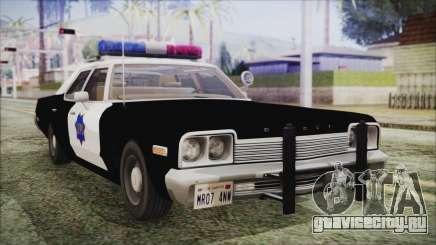 Dodge Monaco 1974 SFPD для GTA San Andreas